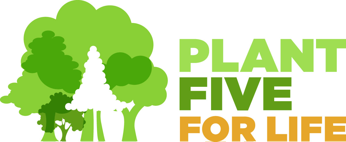 Plant Five For Life